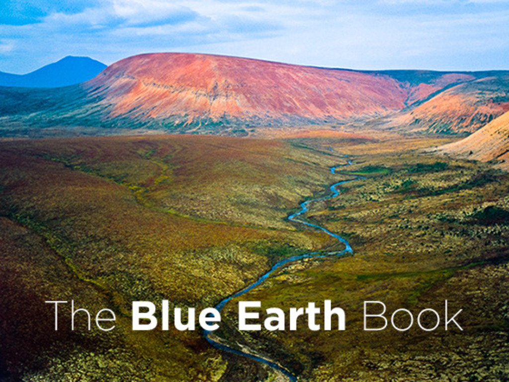 The Blue Earth Book's video poster