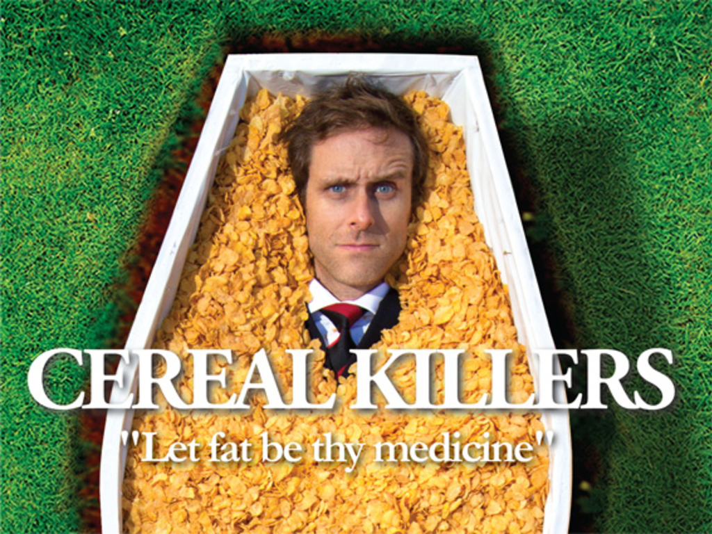 Cereal Killers: The Movie's video poster