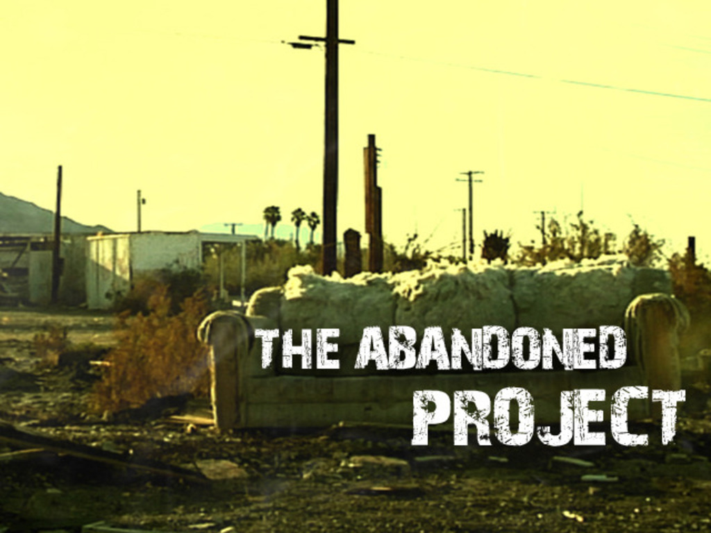 THE ABANDONED PROJECT's video poster