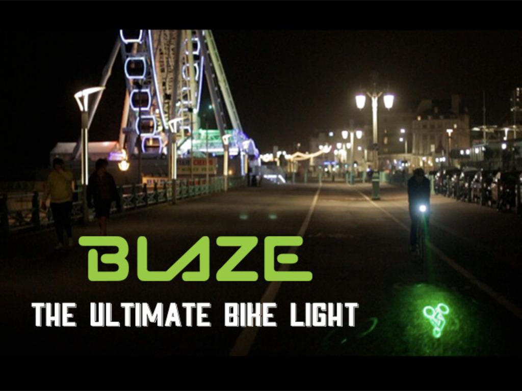 BLAZE Bike Light's video poster