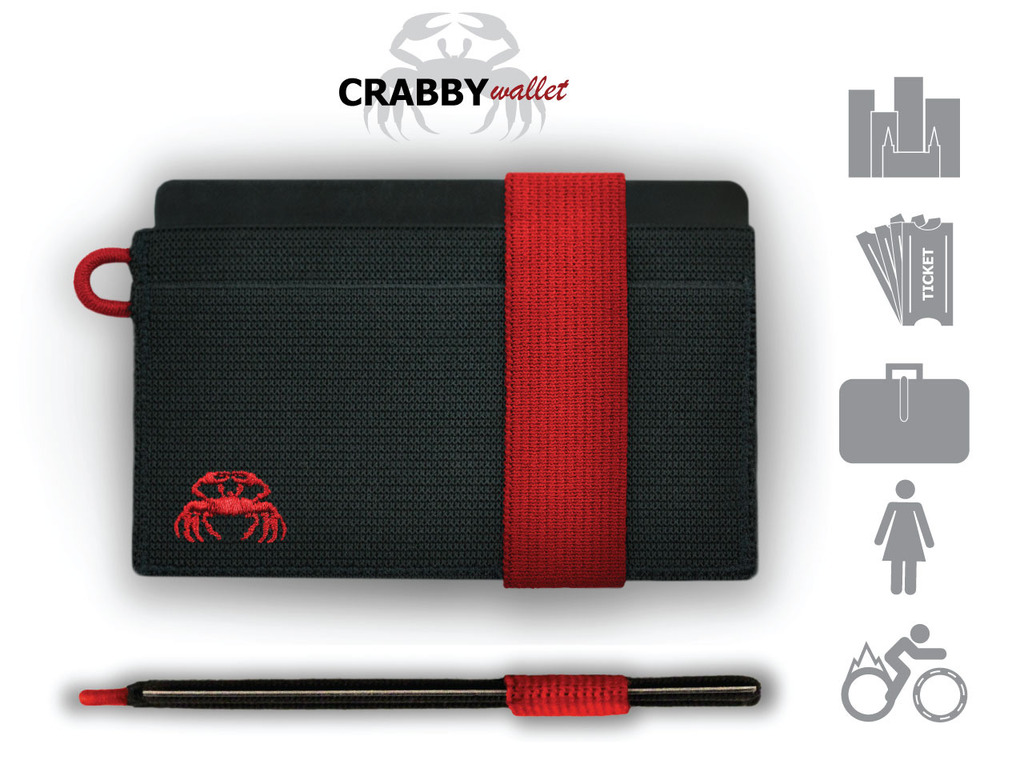 The CRABBY Wallet: A wallet that is not for everyone...'s video poster