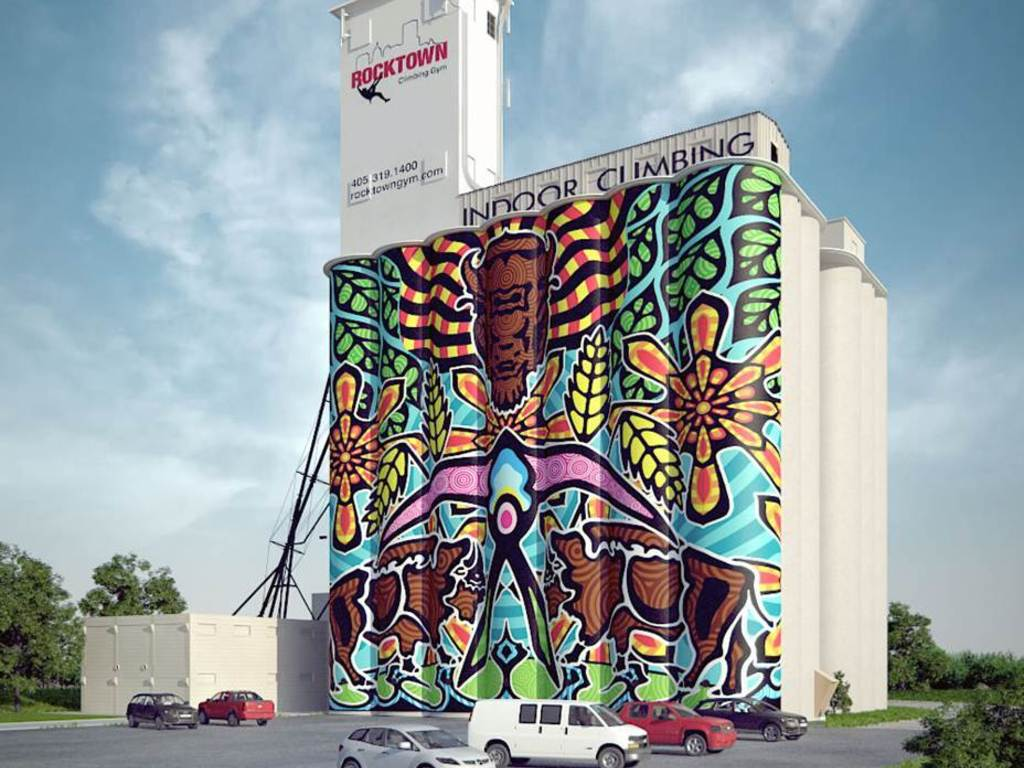 Silo Art Project's video poster