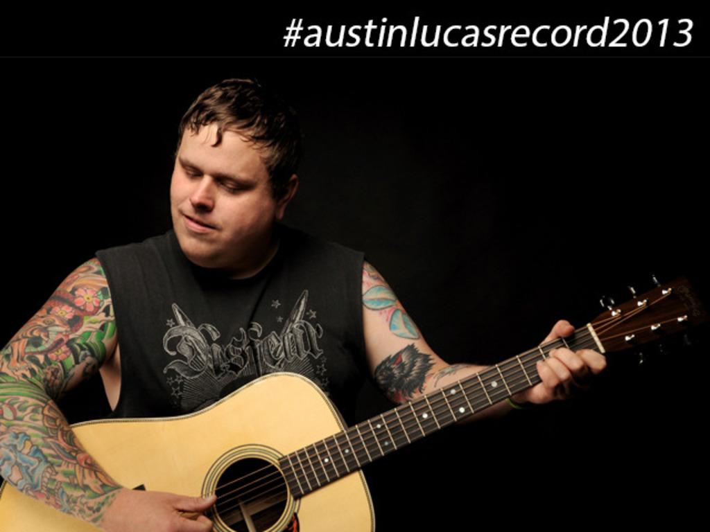 AUSTIN LUCAS: New Studio Album's video poster