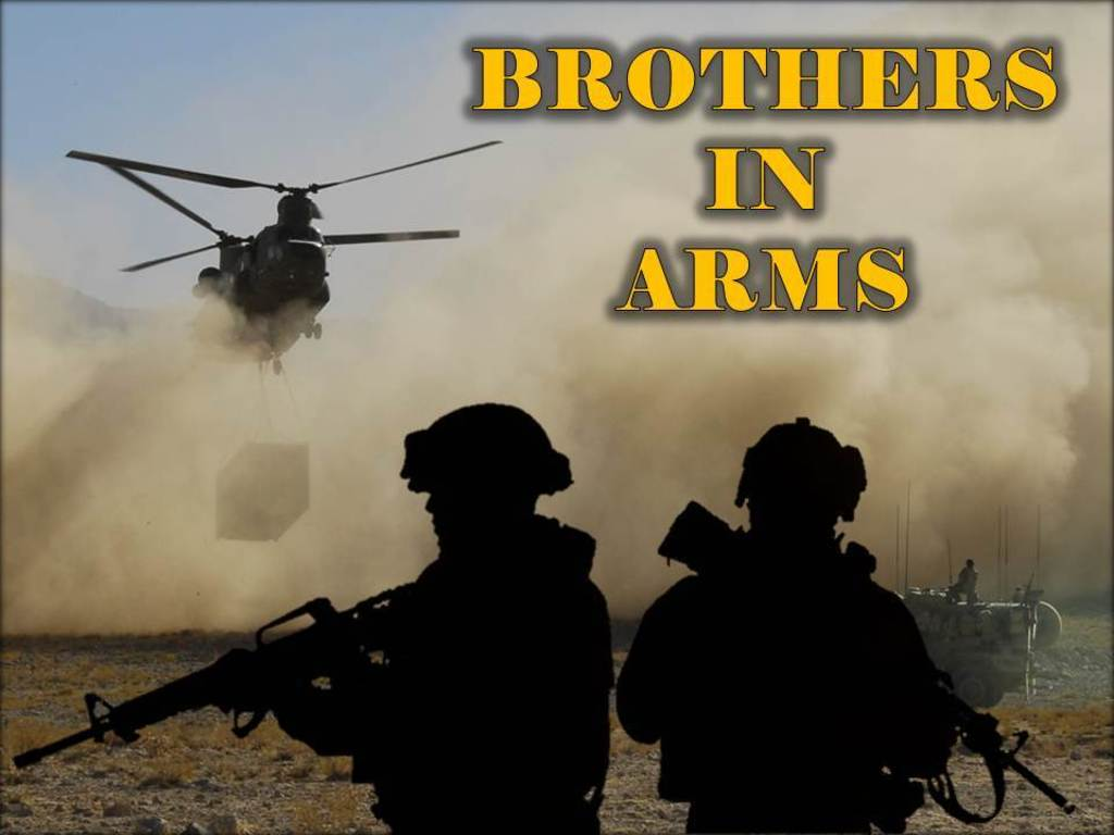 """Brothers in Arms"" Film Project (Canceled)'s video poster"