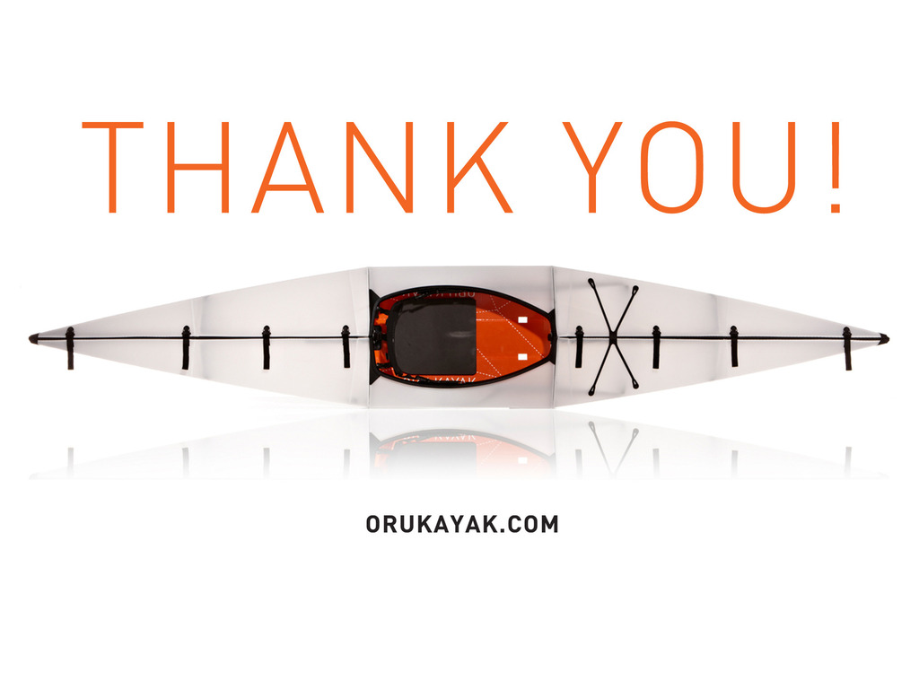 Oru Kayak: the origami folding boat's video poster