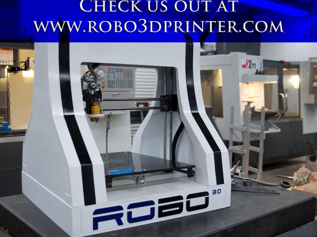 RoBo 3D Printer's video poster