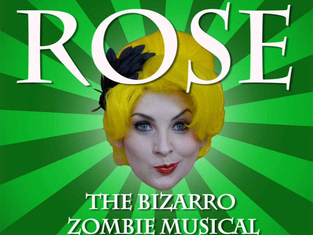 "JOHN SKIPP'S ""ROSE"": THE BIZARRO ZOMBIE MUSICAL!'s video poster"