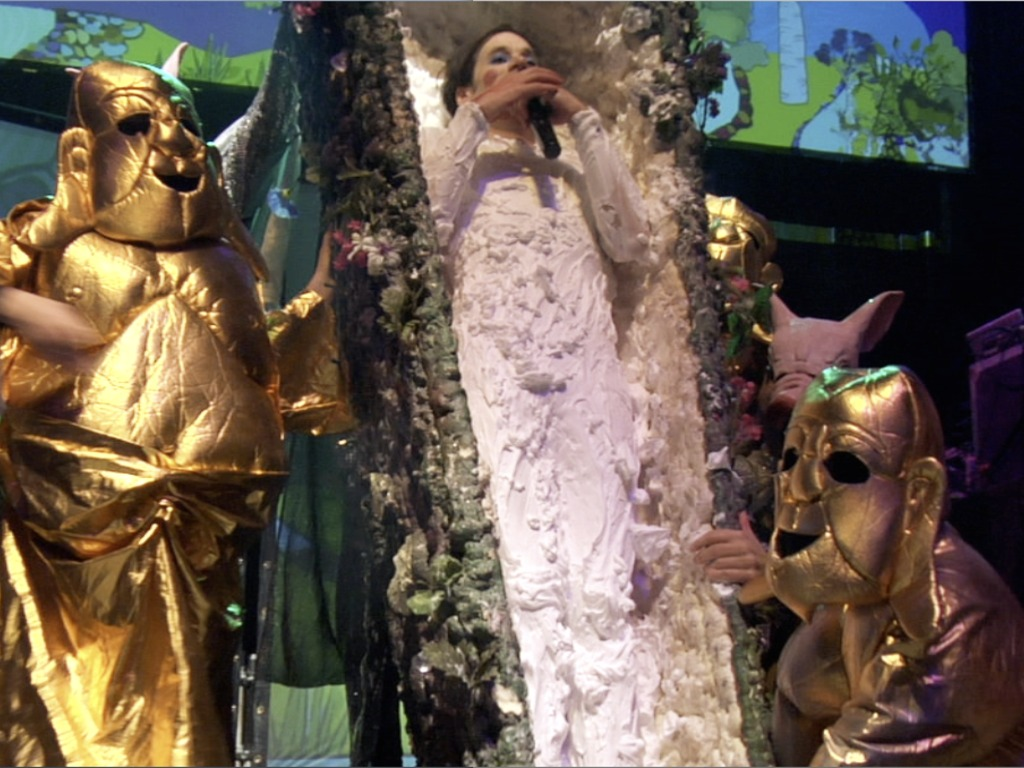 """of Montreal """"Song Dynasties"""" Feature-Length Documentary's video poster"""