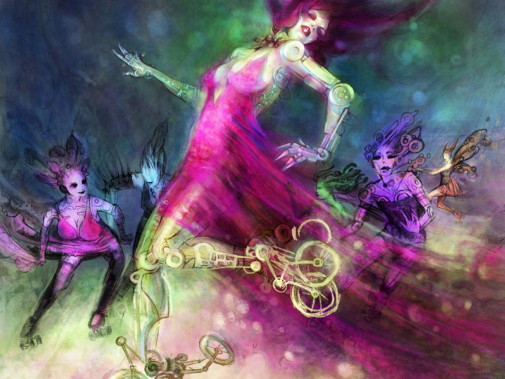 Glitter & Mayhem: The Speculative Nightclub Anthology's video poster