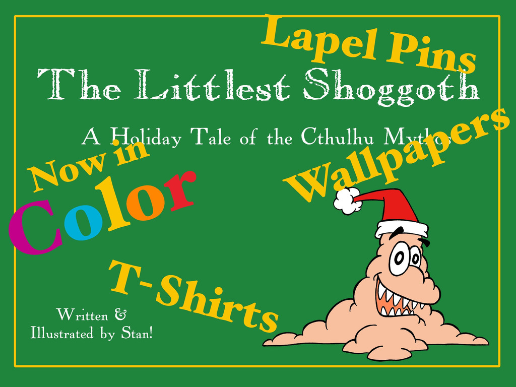 The Littlest Shoggoth, a Holiday Tale of the Cthulhu Mythos's video poster