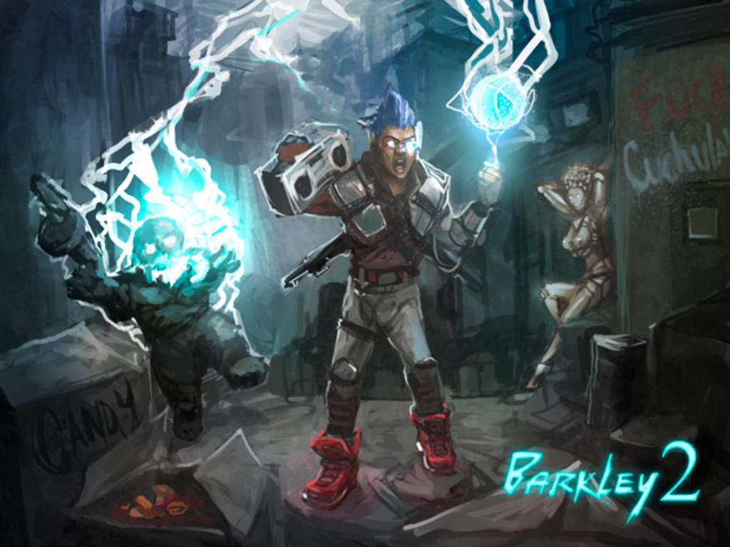 Barkley 2 - an RPG Sequel to Barkley Shut Up and Jam: Gaiden's video poster