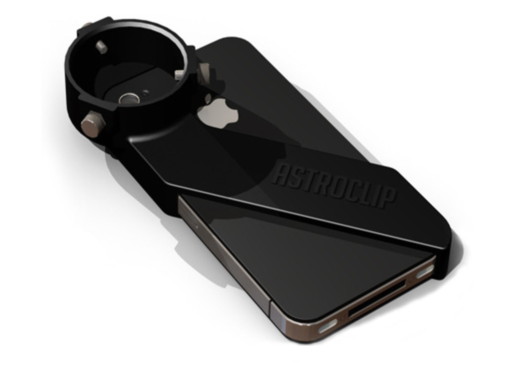 AstroClip: A Universal Telescope Mount for iPhone 4's video poster