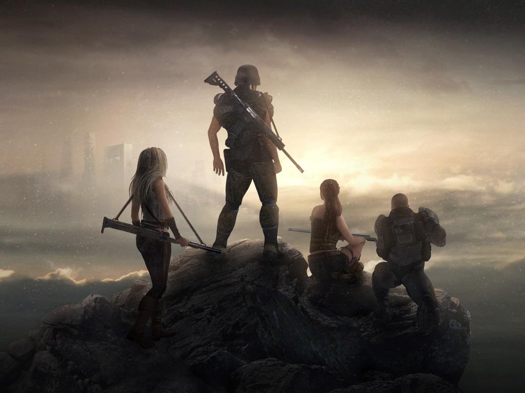 Forsaken Fortress - the survival RPG's video poster