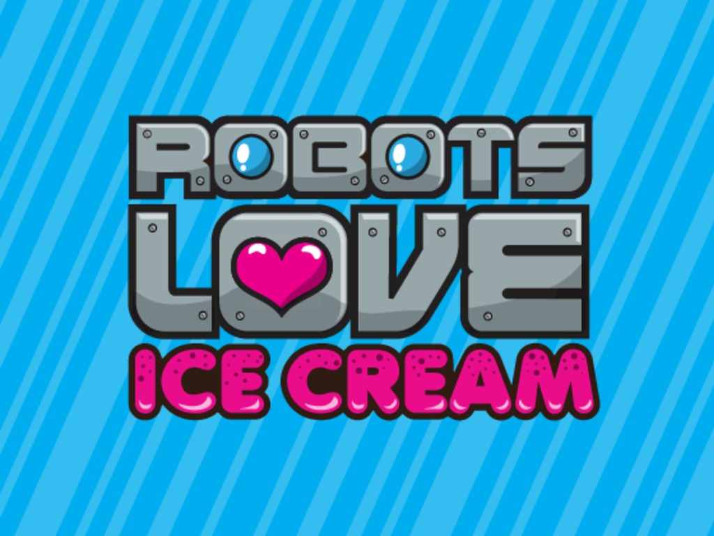 Robots Love Ice Cream game for the iPad's video poster