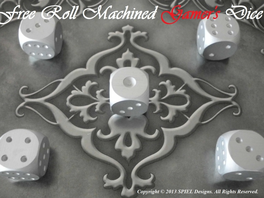 Free Roll Machined Gamers Dice (Canceled)'s video poster