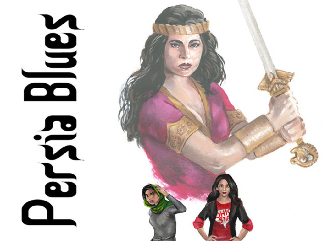 Persia Blues's video poster