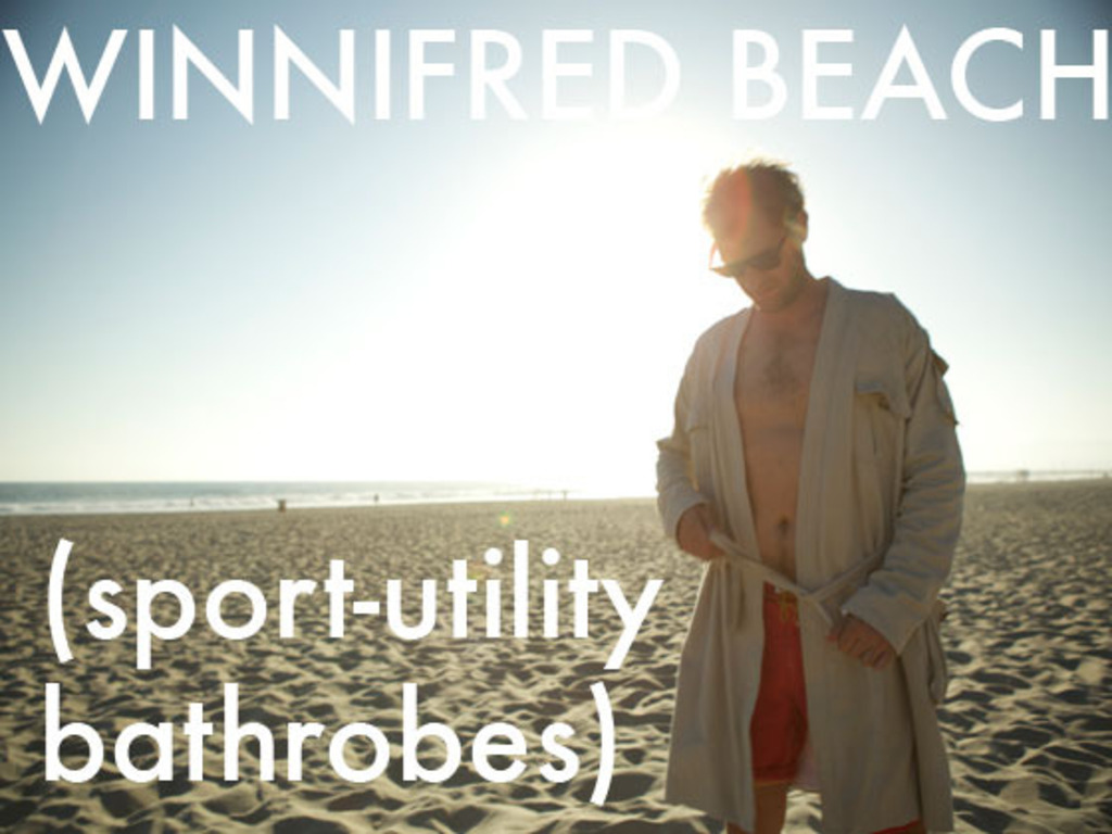 Winnifred Beach (sport-utility bathrobes)'s video poster