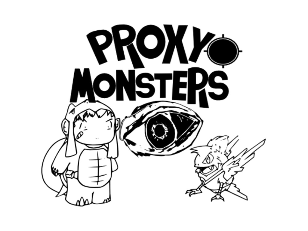 Proxy Monsters – A Location / Augmented Reality Based Game's video poster