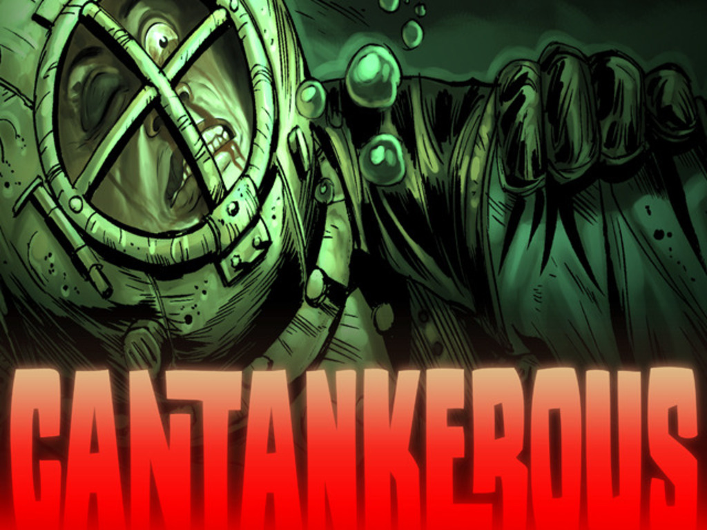 Cantankerous Comic Project's video poster