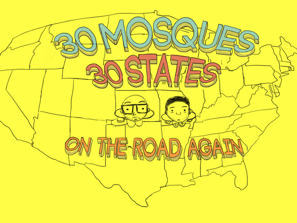 30 Mosques in 30 Days's video poster