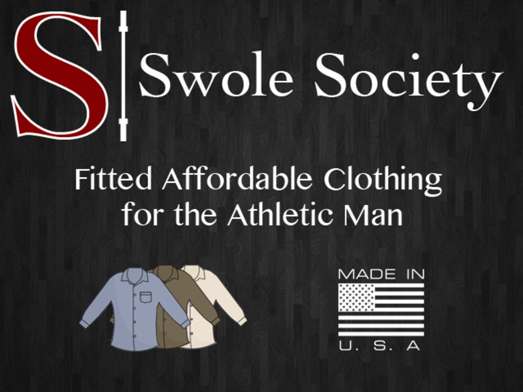 Swole Society Apparel -- Clothes for the Athletic Man's video poster