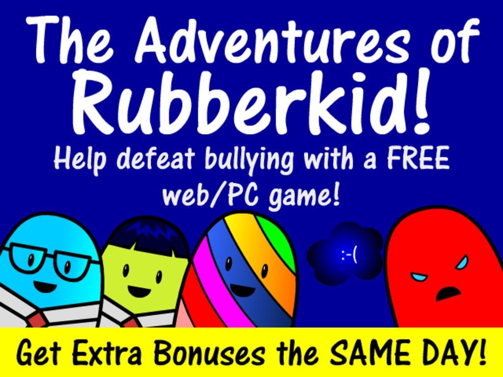The Adventures of Rubberkid's video poster
