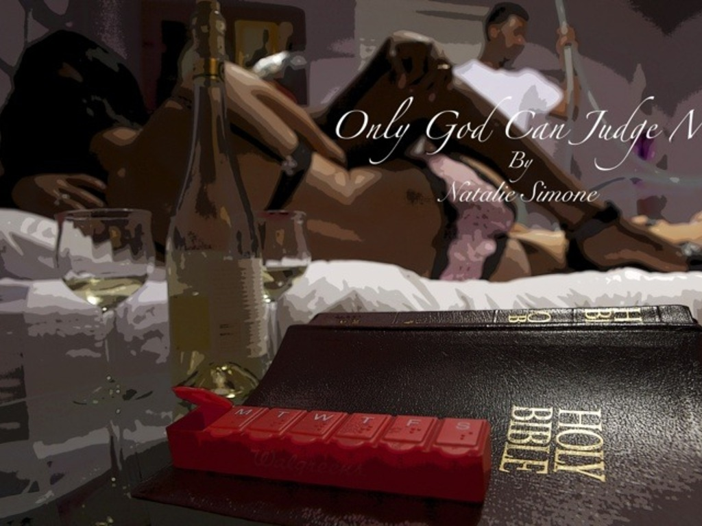"""Only God Can Judge Me"" - The Stage Play's video poster"
