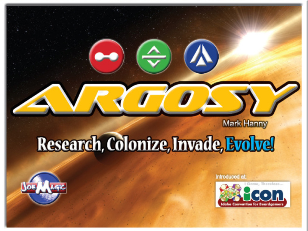 Argosy the board game! Research, Colonize, Invade, Evolve!'s video poster