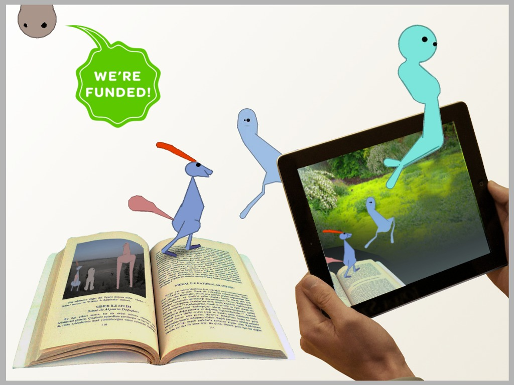 Peck Peck's Journey: A Picture Book That Spawns Virtual Life's video poster