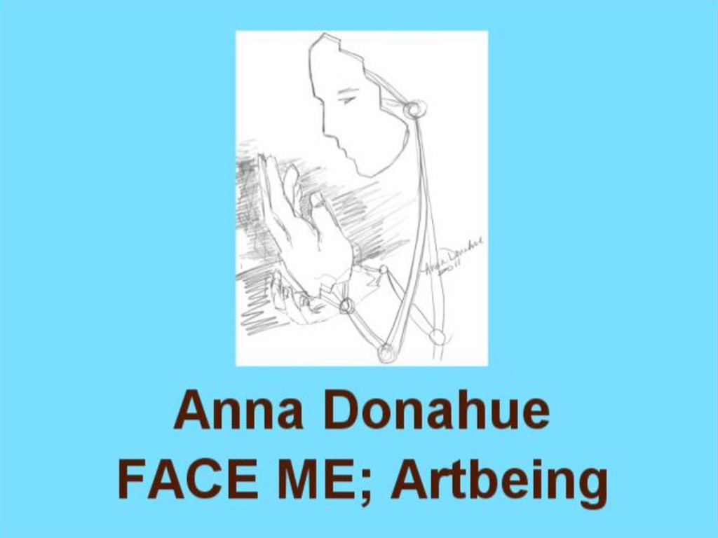 FACE ME, Artbeing; kinetic sculpture, touch to begin's video poster