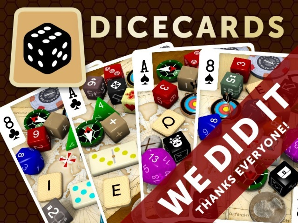 Dicecards: The World's Geekiest Dice Bag in a Deck of Cards's video poster