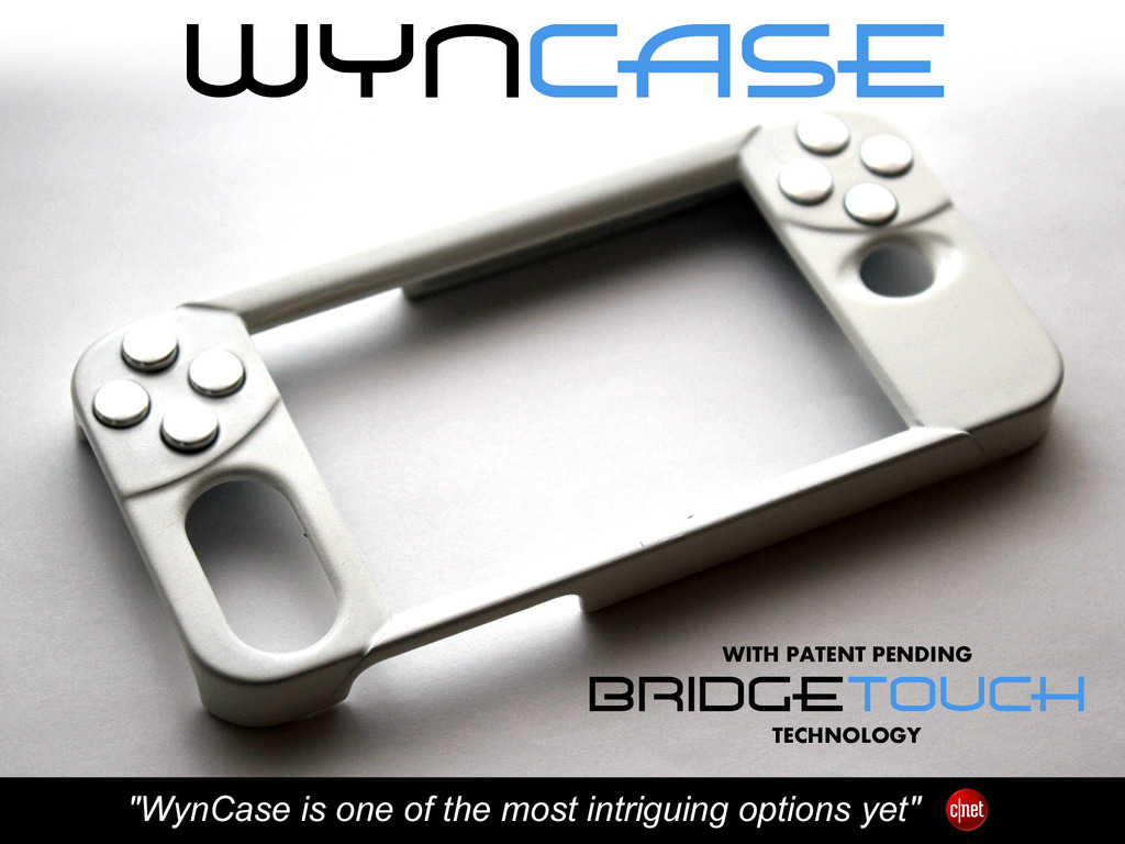WynCASE: Turn the iPhone into a true mobile gaming console's video poster