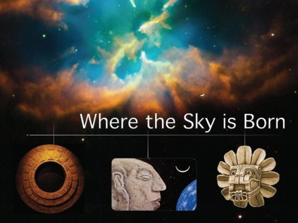 """Where The Sky Is Born"", a Mayan adventure film's video poster"