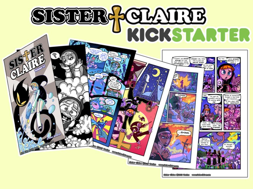 Sister Claire Book Kickstarter!'s video poster