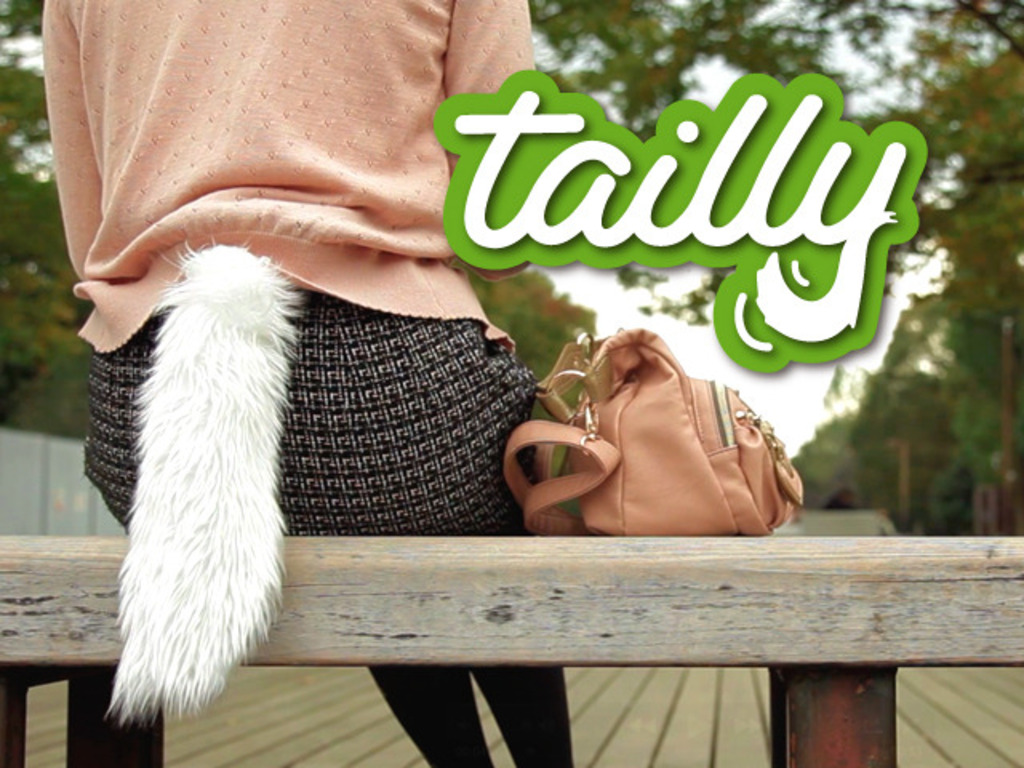 """Tailly"", the tail that wags when you get excited's video poster"