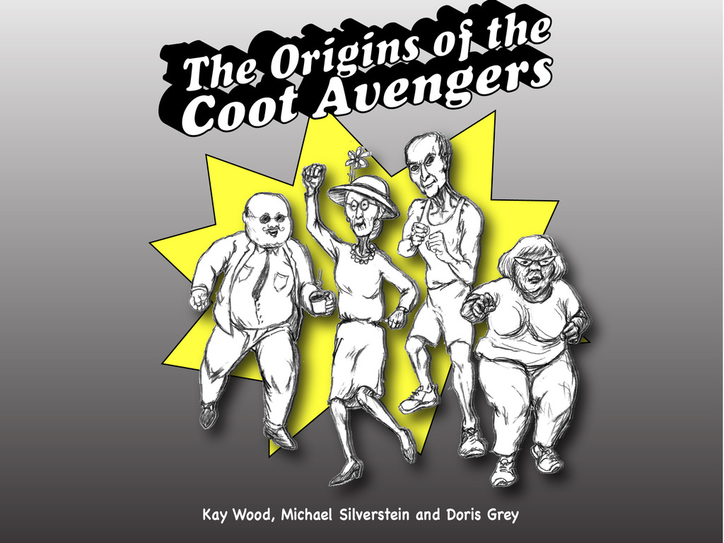 The Origins Of The Coot Avengers; a mini-comic's video poster