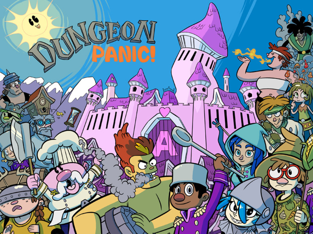 Dungeon Panic! - an Adventure in Friendship!'s video poster