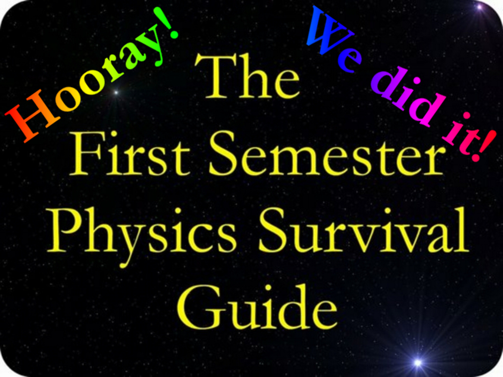 "Editing Needed For ""First Semester Physics Survival Guide""'s video poster"