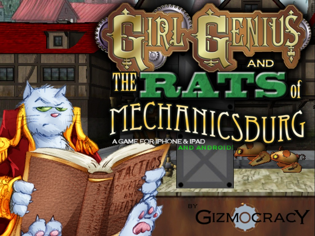Girl Genius and the Rats of Mechanicsburg's video poster