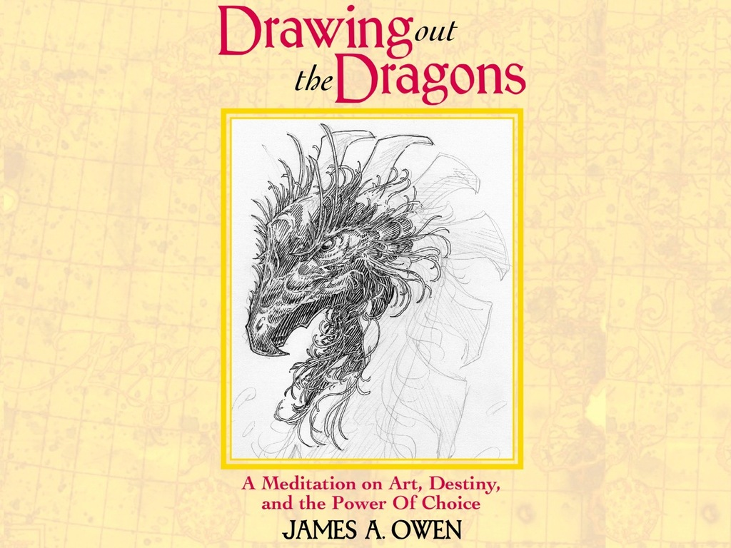 James A. Owen: The DRAWING OUT THE DRAGONS Project's video poster