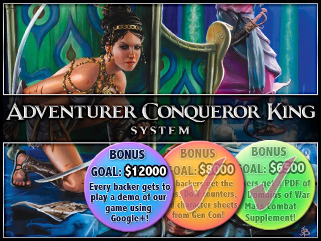 Adventurer Conqueror King's video poster