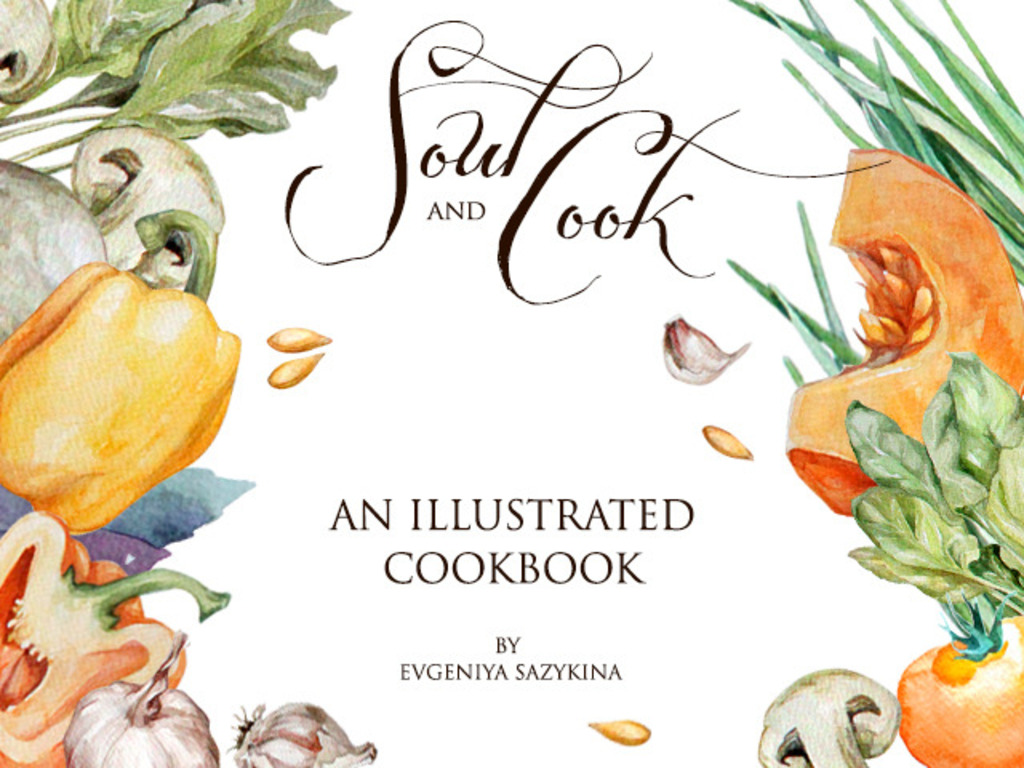 Soul&Cook: a hand-drawn cookbook of delicious dishes's video poster