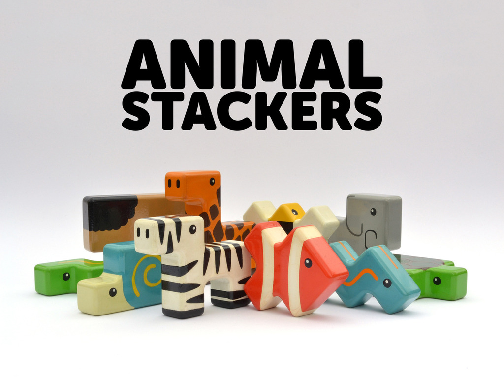 Animal Stackers - A New Kind of Building Block's video poster