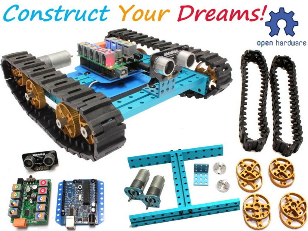 Makeblock : Next Generation of Construct Platform's video poster