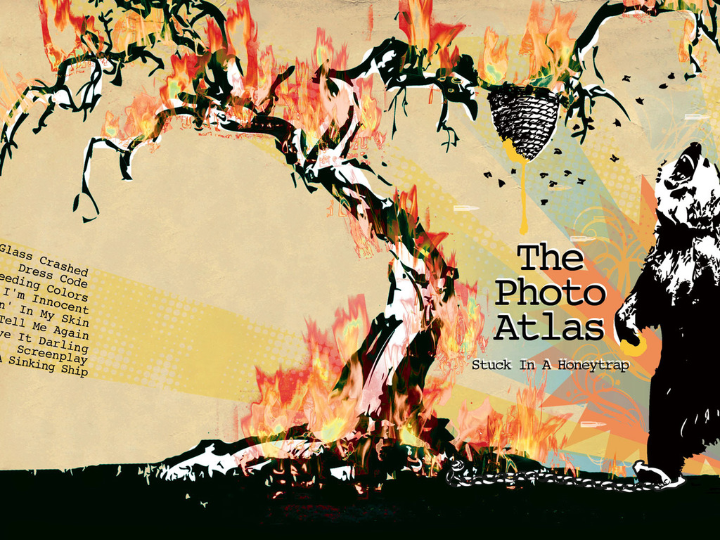 "The Photo Atlas New Record ""Stuck In A Honey Trap""'s video poster"