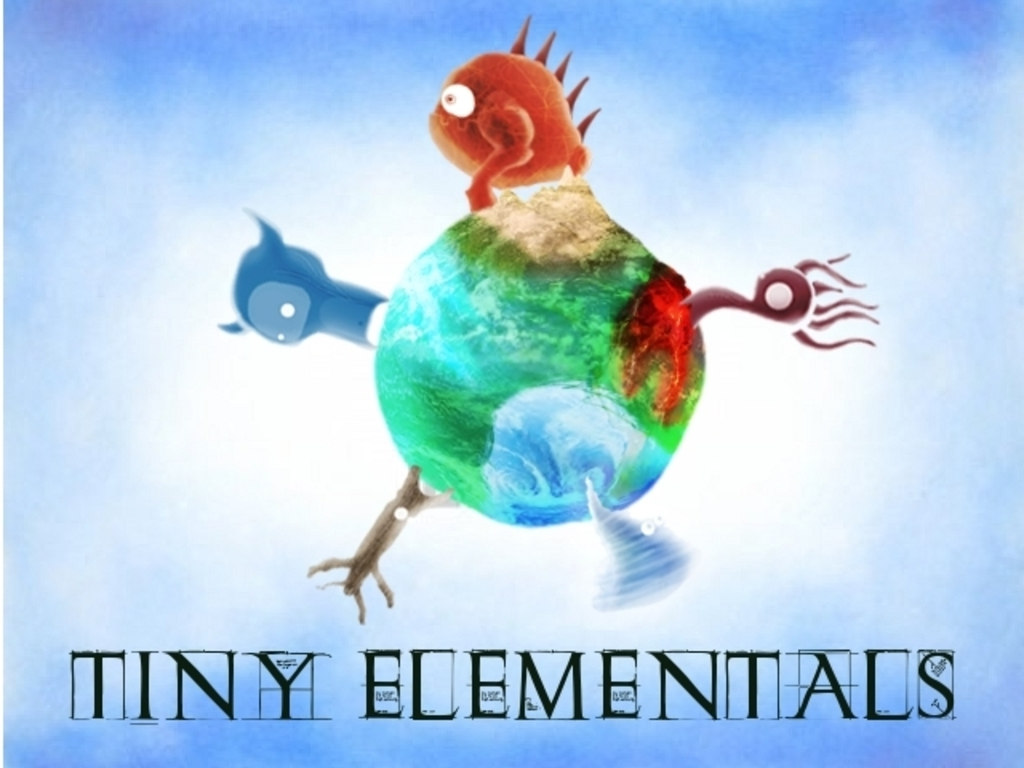 Tiny Elementals a unique multiplayer race game's video poster
