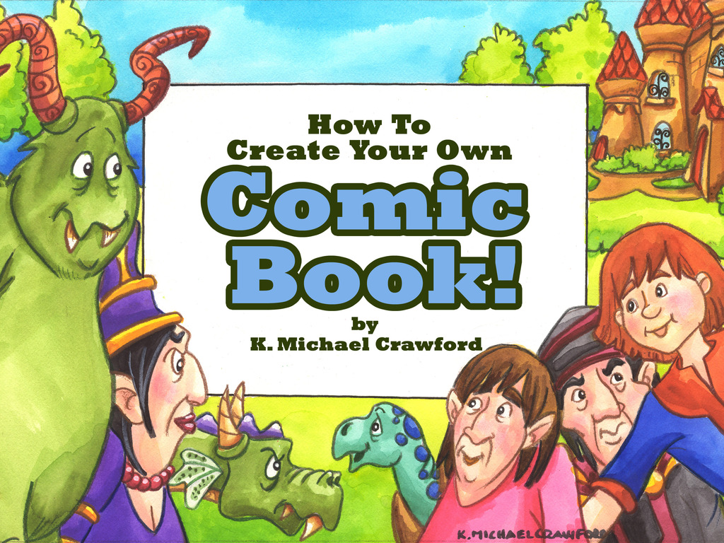 """""""How to create your own Comic Book"""" Workbook and 6 DVDVideos's video poster"""
