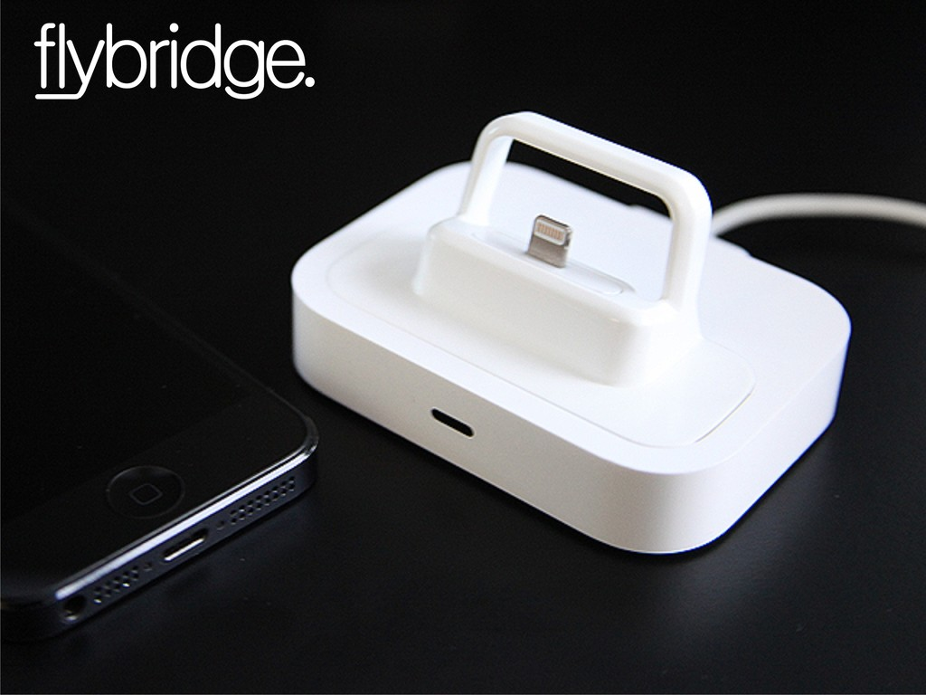 Flybridge, the iPhone/iPad Lightning Dock adapter's video poster