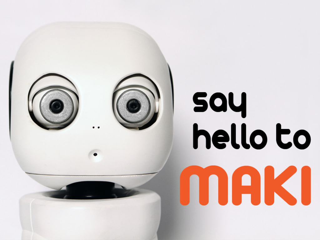 MAKI - The 3D Printable Humanoid Robot (Canceled)'s video poster