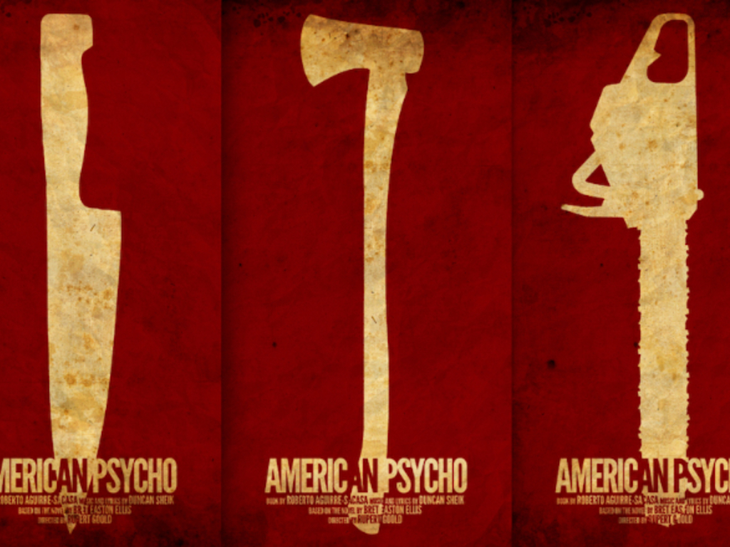 AMERICAN PSYCHO's video poster